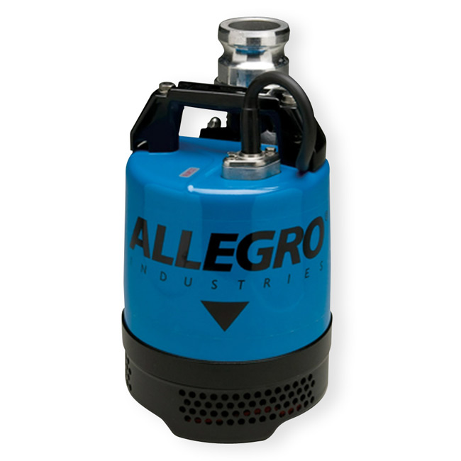 Standard Submersible Dewatering Pump from Allegro