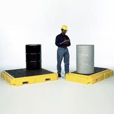 Ultratech Ultra-Spill Pallet Plus (2 Drum Model) from Ultratech