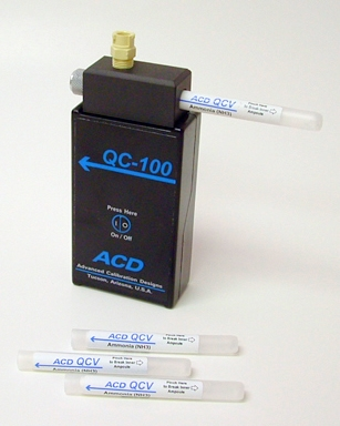 QC-100 On-Demand Bump Test Kit from Advanced Calibration Designs