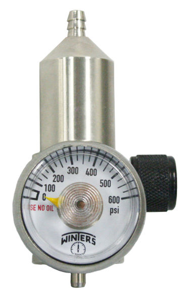 Preset-Flow Regulator for CGA-600 Calibration Gas Cylinders