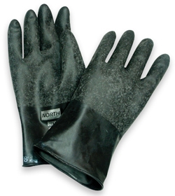 North Butyl Gloves 32 mil, 14