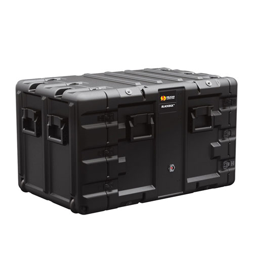 Double End Rackmount Black Box-9U from Pelican