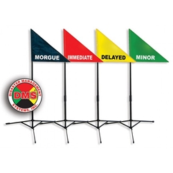 Treatment Area ID Flag Kit from Disaster Management Systems