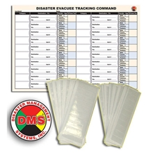 All Risk Patient Tracking Refill Pack from Disaster Management Systems