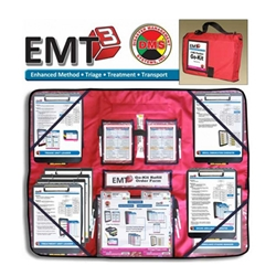EMT3 MCI Go-Kit for First Responders - 8 Position from Disaster Management Systems