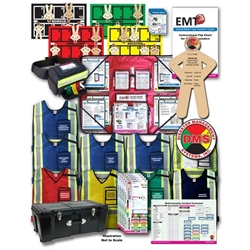 MCI Tabletop Training Kit Optimized for EMT3 from Disaster Management Systems