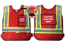 Custom Dynamic ANSI Compliant Style Vest from Disaster Management Systems