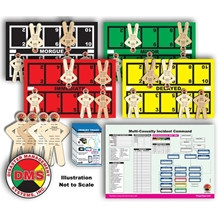 CERT MCI Tabletop Training Kit from Disaster Management Systems