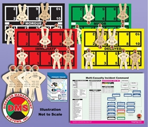 EMT3 Basic Tabletop Training Essentials Kit from Disaster Management Systems