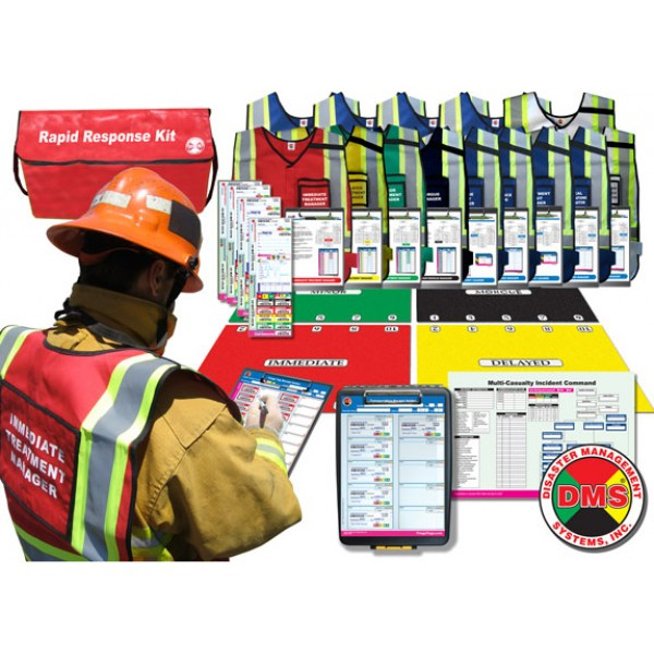Rapid Response Kit for MCIs - 9 Position from Disaster Management Systems
