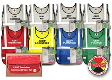 CERT Incident Command Vest Kit DMS-05313
