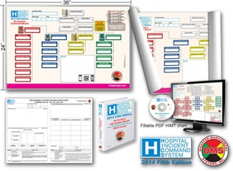 HICS 2014 Command Board Dry Erase Essentials Toolkit for Smaller Hospitals DMS-05424