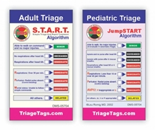 START / JumpSTART Pediatric Prompter Wallet Cards DMS-05704