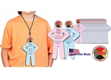 Standard Pediatric Victim Cards from Disaster Management Systems