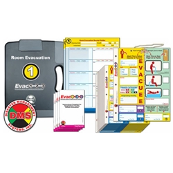 Evac123 Room Evacuation Step 1 - Pack from Disaster Management Systems