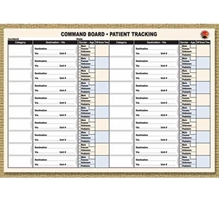 Command Board Patient Tracking Sheets