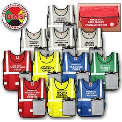 Long Term Care Facility Command Vest Kit from Disaster Management Systems