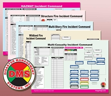 Multi-Hazard Incident Command Worksheet Multi-Pack from Disaster Management Systems