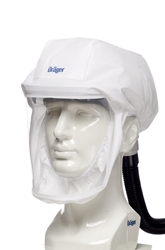 X-plore 8000 Powered Air Purifying Respirator (PAPR) Hood from Draeger