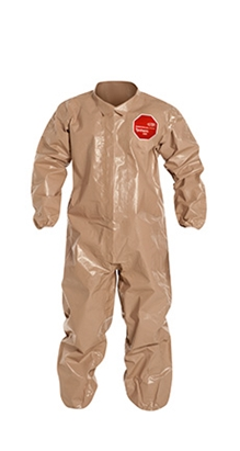 Tychem  5000 Coverall w/ Elastic Wrists & Ankles