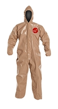 Tychem 5000 Coverall w/ Hood, Elastic Wrists & Ankles C3127T  TN  00-SM, C3127T  TN  00-MD, C3127T  TN  00-L , C3127T  TN  00-XL