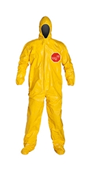 Tychem  2000 Coverall w/ Attached Hood & Socks