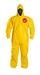 Tychem  2000 Coverall w/ Hood, Elastic Wrists & Ankles - QC127B  YL  00