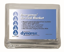 Survival Emergency Blanket from Dynarex