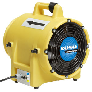 "UB20 8"" Confined Space Blower 1/3 HP"