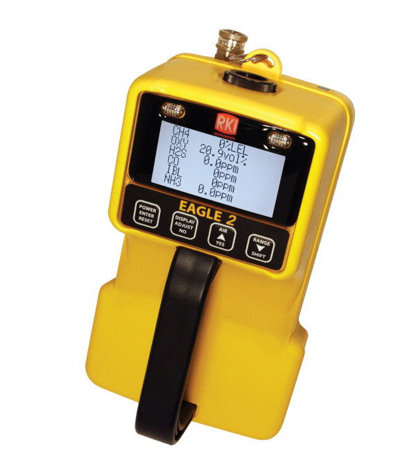EAGLE 2 Six Gas Portable Monitor from RKI Instruments