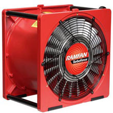 "16""/40cm EFC150x Intrinsically Safe Turbo Blower from Euramco Safety"