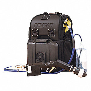 Electrostatic Equipment Back Pack Self Contained Economy Sprayer/Decon Shower System from FSI