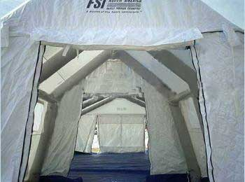 FSI DAT Series Pneumatic Isolation Shelter 11'W x 21'L x 9'H from FSI