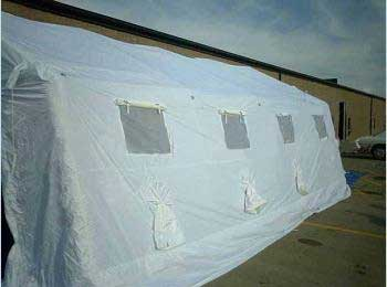 FSI DAT Series Pneumatic Isolation Shelter 20'W x 30L x 9'H from FSI