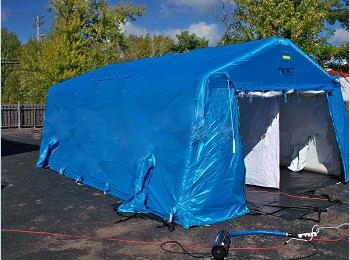 FSI Decon Shower Shelter System from FSI