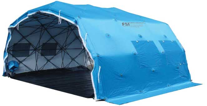 FSI DAT 'QE' 'Quick Erect' Shelters 11'W x 15'L x 8.5'H from FSI