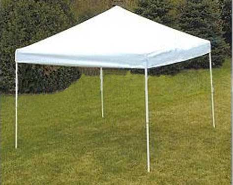 FSI Economy Pop Up Open Sided Shelter 10'H x 20'L x 8'H from FSI