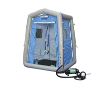 Portable Pneumatic Decon Shower