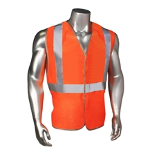 5 ANSI-PC Safety Vest Class 2 by Carolina Safety Sport