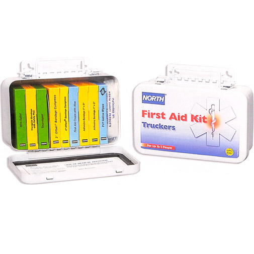 North 10-Unit Truckers First Aid Kit from North by Honeywell