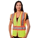 ANSI Class 2 Two Tone Three Pocket Mesh Vest from PIP
