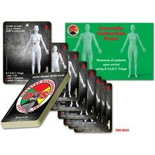 Active Shooter Victim Cards - Deck of 32 from Disaster Management Systems