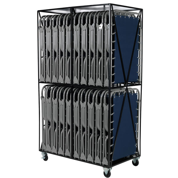 Cart w/ 20 XB-1 Cots from Blantex