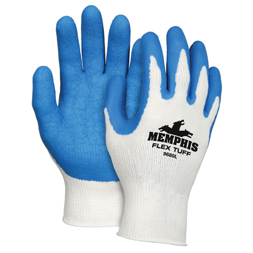 Flex-Tuff Blue Work Glove from MCR Safety