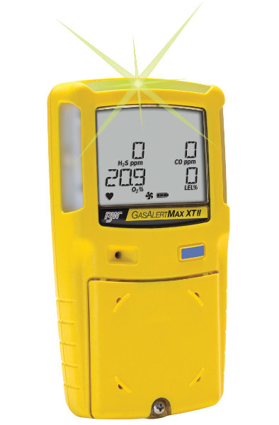 GasAlert Max XTII Multi-Gas Detector from BW Technologies by Honeywell