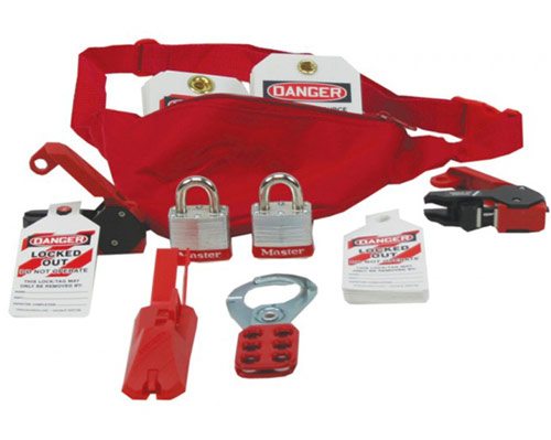 Lockout/Tagout Pouch Kit from Accuform Signs