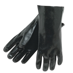 "Memphis 14"" Single Dipped PVC Coated Gloves (Smooth) Interlock Lined from MCR Safety"