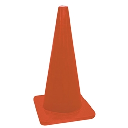 Red/Orange Standard Traffic Cones from Accuform Signs