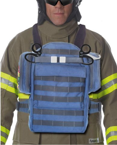 Advanced Chest Mounted Tactical Triage Ribbon Bag