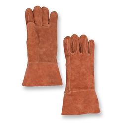 "14"" Thermal Leather and Aluminized Foil Combo Gloves from Chicago Protective"
